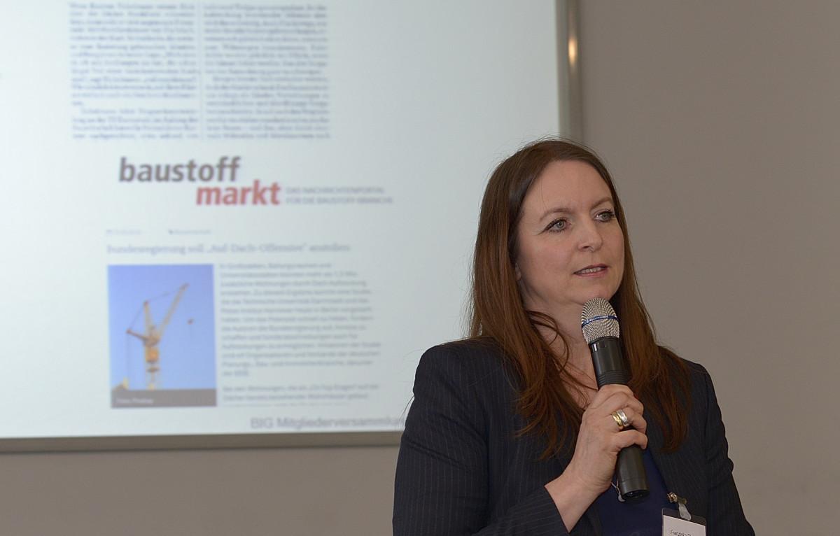 BIG Geschäftsführerin Franziska Plesser